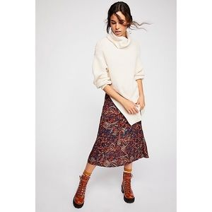 FREE PEOPLE ELEVEN COWL NECK SWEATER
